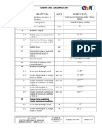 Technical Data Sheets_turbine