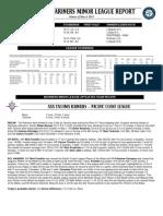 05.05.13 Mariners Minor League Report