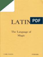 Nagel, Carl - Latin - The Language of Magic