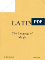 Nagel, Carl - Latin - The Language of Magic