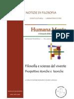 Humana_Mente 06 Filosofia e Scienze Del Vivente