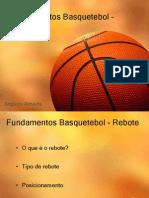 Fundamentos Basquetebol – Rebote