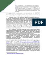 OBSERVACIÓN AL REGLAMENTO DE LA LEY DE REFORMA MAGISTERIAL