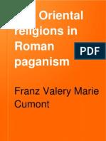 Oriental Religions in Roman Paganism
