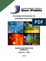 Guía de Practicas de Química II