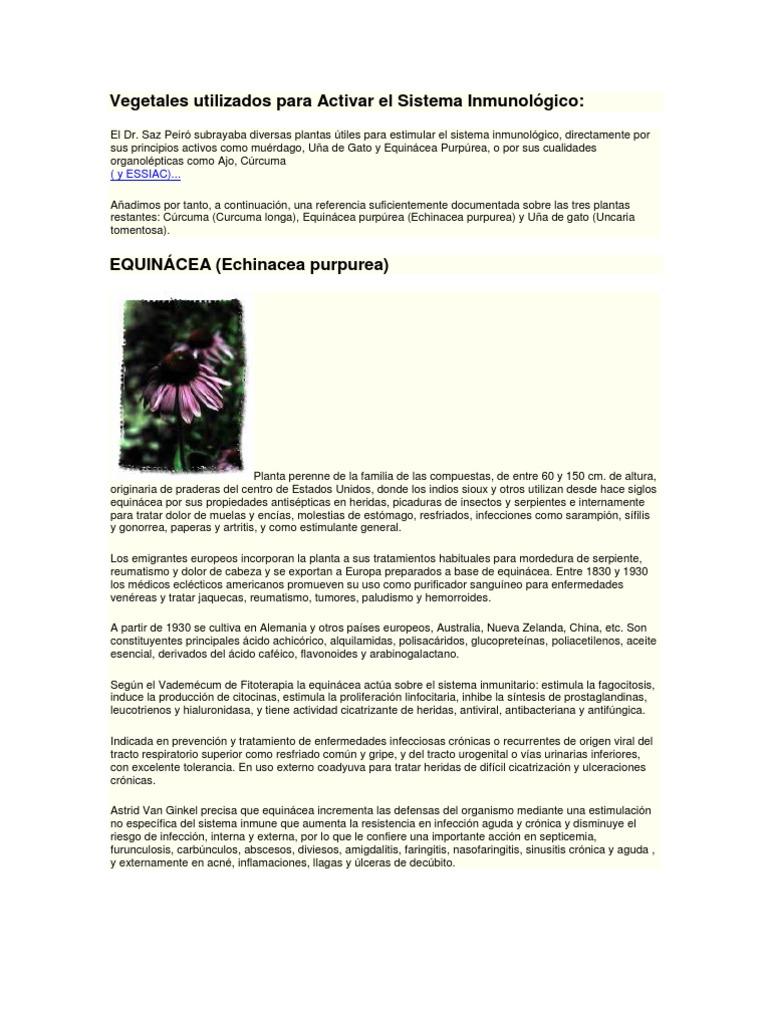 Sistema estimula inmunologico el