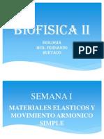 Biofisica II Clase i