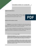 PREPARACIÓN DE DISOLUCIONES Y SU VALORACIÓN
