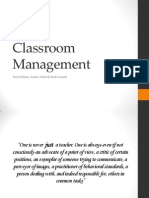 chapter 9 classroom management