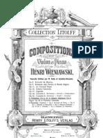 Composiciones Para Violin y Piano