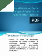 Social Dialogue Phase 3 Presentation Component 1
