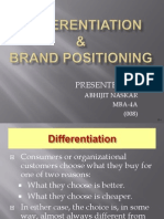 Differentiation & Brand Positioning