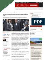 Les généreuses primes du ministère de Manuel Valls