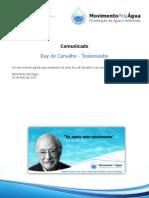Testemunho Ruy de Carvalho