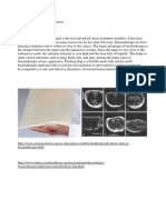 brachytherapy surface applicators
