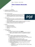 Ofimática-Bases de datos