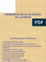 Problemas de la Filosofía de la Mente