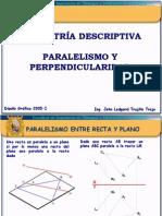 Geometria Descriptiva_Paralelismo y Perpendicularidad_2005-I