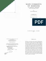 Leszek Kolakowski - Main Currents of Marxism - Its Rise, Growth and, Dissolution - Volume III - The Breakdown
