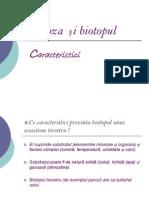 Biocenoza și biotopul