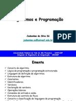 Algoritmos e Programacao - TEORIA - Aula 1