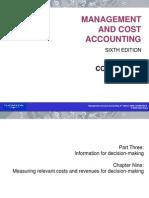 Relevant Cost Drury