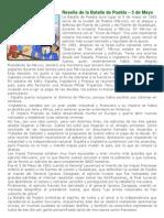 Reseña de la Batalla de Puebla
