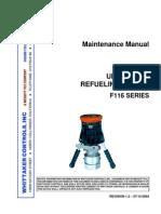 = F116 + Rev 1.2 2003-07-15 Underwing Refueling Nozzle