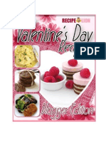 20 Valentines Day Recipes Blogger Edition Free eCookbook