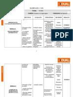 planificação - 1º Ano 1º Módulo turma de Contabilidade