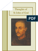 Thoughts of St John of God