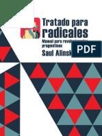 Alinsky, Saul - Tratado para radicales. Manual para revolucionarios pragmáticos