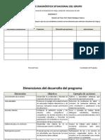 REPORTE DE DIAGNÓSTICO SITUACIONAL DEL GRUPO CONSTRUYE T