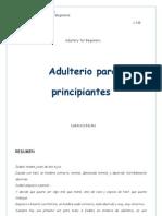 Duncan Sarah - Adulterio Para Principiantes