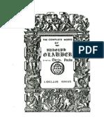 LIBEL LUSIGNIUM (Complete Works of Glauber)