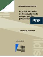 Documento Politica Exterior Demetrio Boers Ner