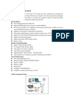 Tv Usb20 Manual