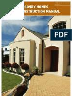 20412 Masonry Homes Construction Manual