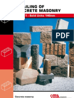 Concrete Masonry Solid Units 140mm