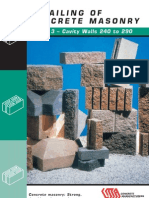 Concrete Masonry Vol3 Cavity Walls 240 290