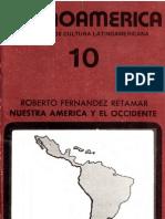 Fernandez Retamar Roberto Nuestra Amc3a9rica y El Occidente