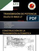 TRANSMISIÓN DE POTENCIA ISUZU D-MAX LT