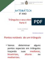 Aula 8 - 8° ano - Triângulos e seus elementos - Parte II.pptx