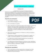 Capacitación para maestros de Escuela Dominical 1