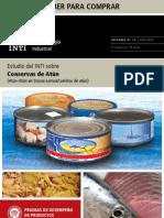 Estudio del INTI sobre conservas de atún