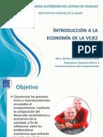 Presentación economía y vejez1