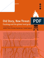 Fracking Old Story New Threat 0