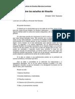 Ernesto Guevara - Estudios de filosofia.pdf