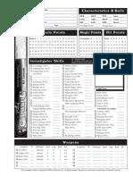 Char Sheet Page 1
