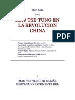 Chen Boda - Mao Tse-Tung en la revolucion China.docx